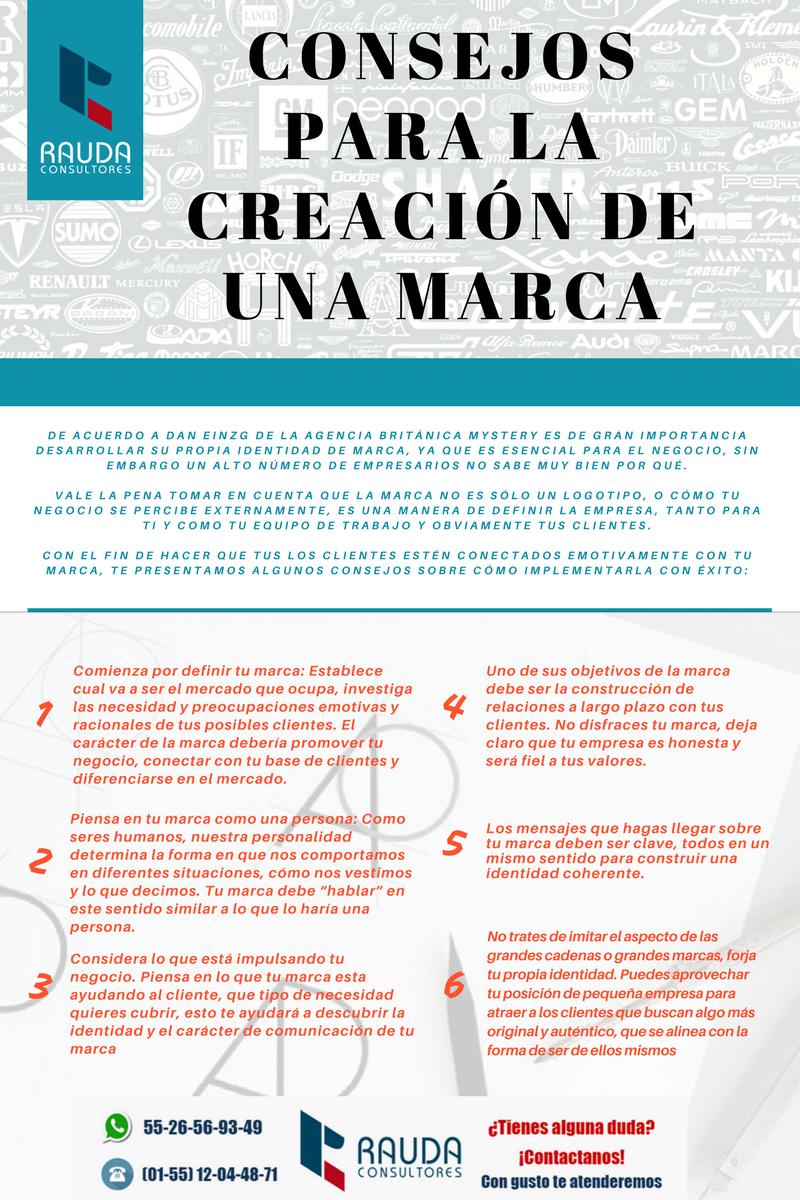 Consejos para la Creación de una Marca! | RAUDA CONSULTORES